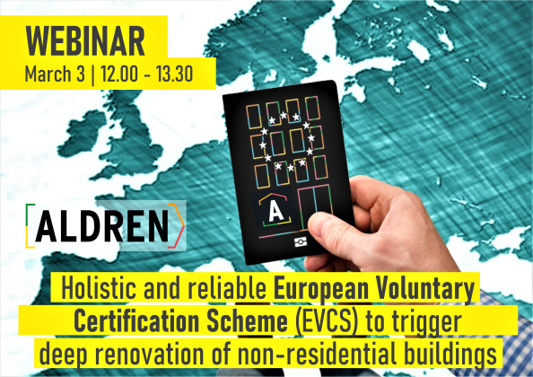 BuildUp webinar (3 March 2020): Holistic and reliable EVCS to trigger deep renovation of non-residential buildings