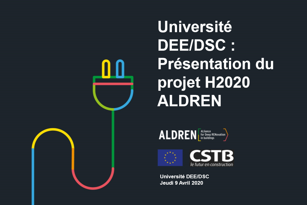 CSTB Webinar regarding ALDREN during the COVID outbreak